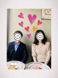成婚者の男女写真