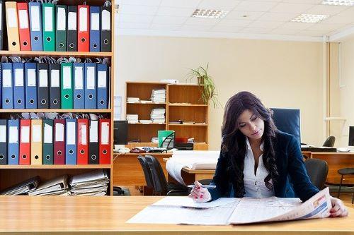 オフィス女性