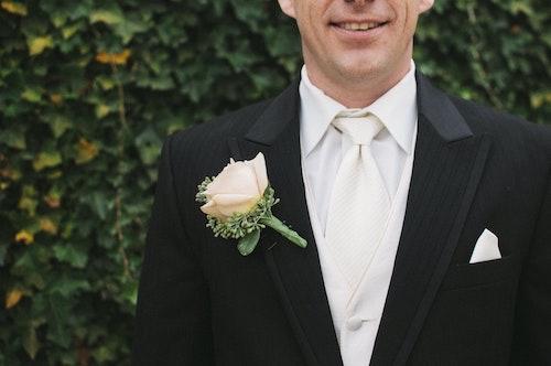 結婚式父親