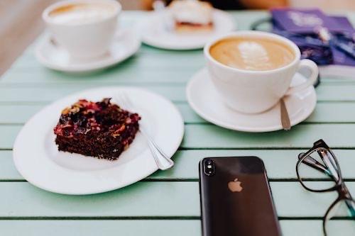 ケーキ コーヒー